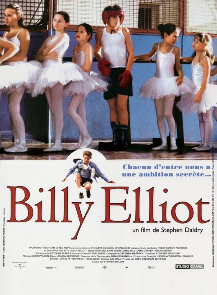 Billy Elliot Um Garoto De 11 Anos Que Vive Numa Pequena Cidade Da Inglaterra Onde O Principal Meio De Sustento Billy Elliot Cartaz De Filme Cartazes De Cinema