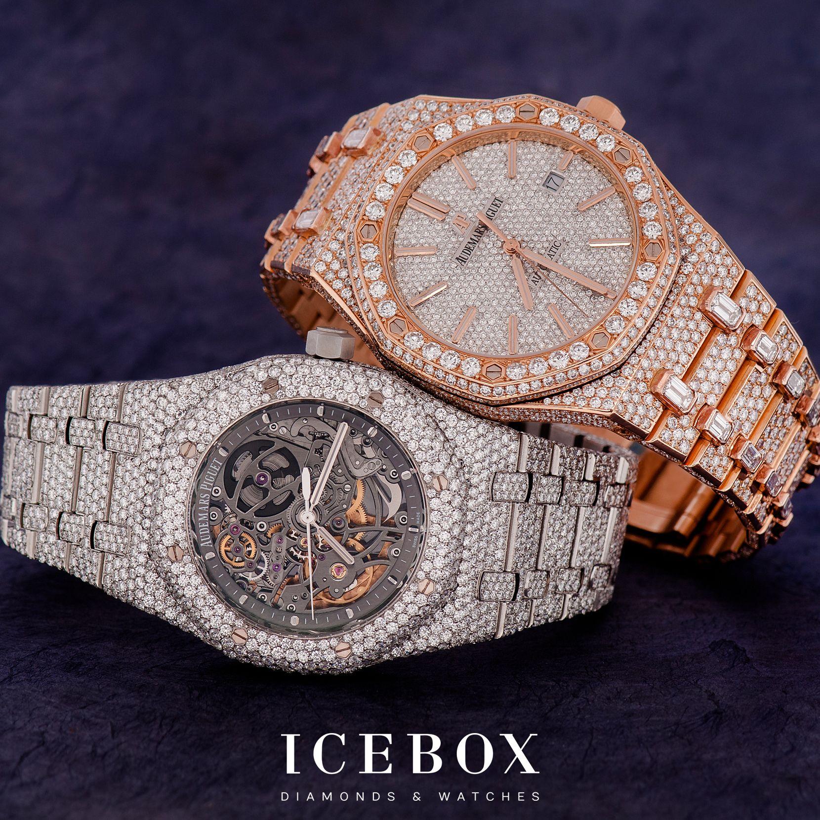 Pin by Icebox Diamonds & Watches on Audemars Piguet ...