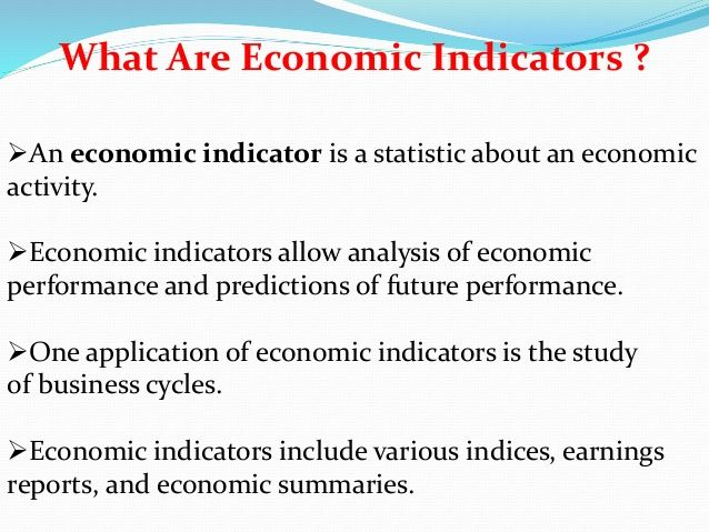 Leading Indicators Coincident Indicators Lagging Indicators Types