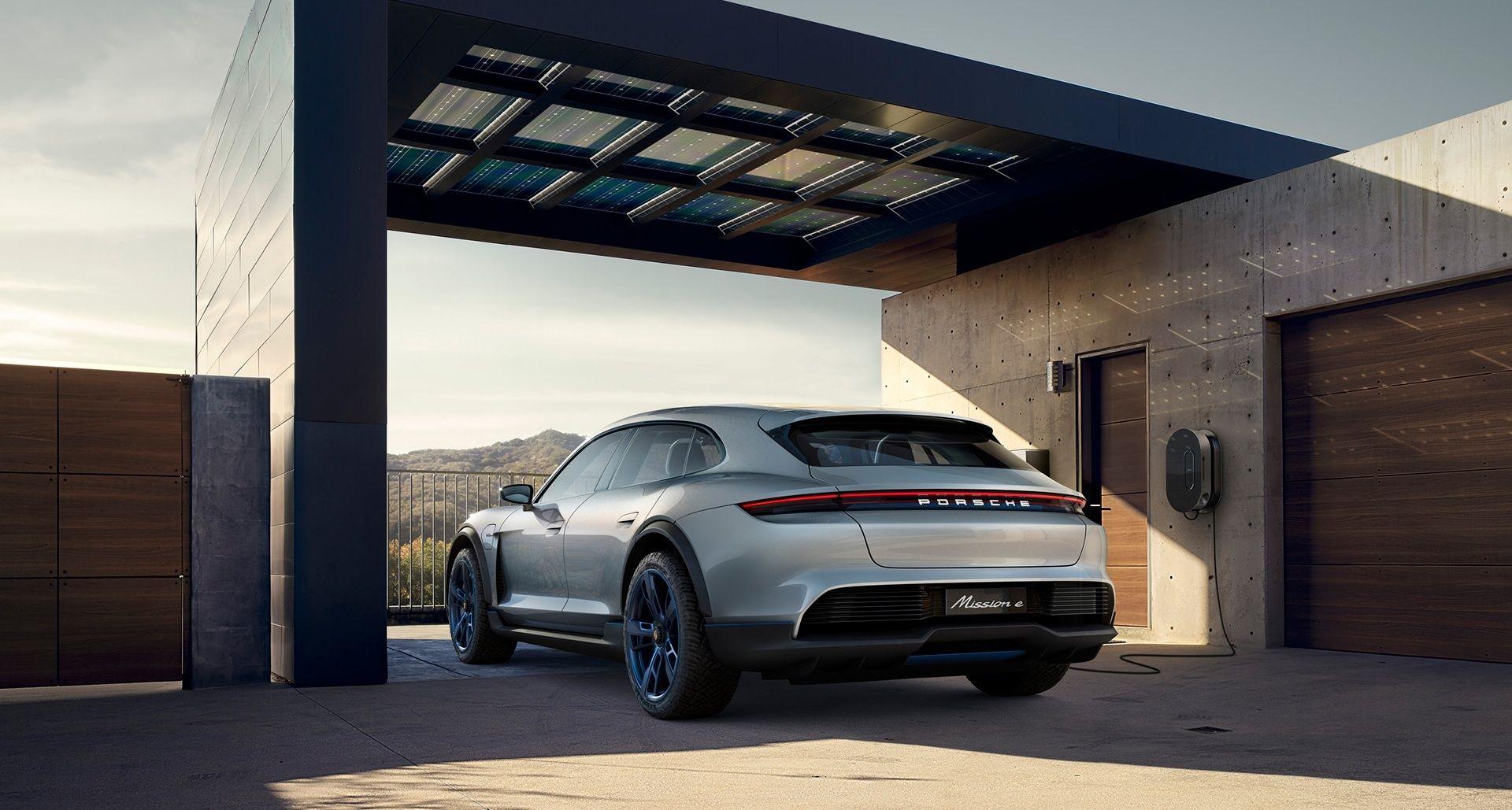 The new Porsche Mission E Cross Turismo will be built in 2019
