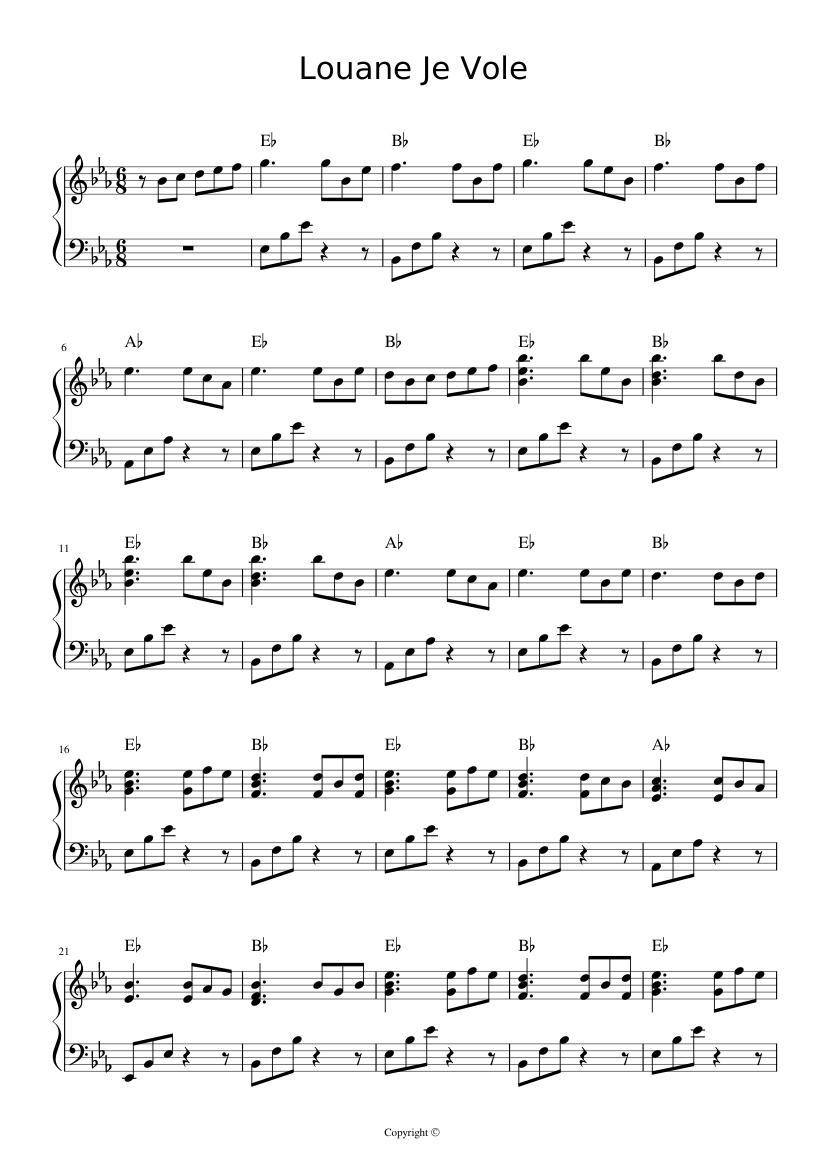 partition guitare louane
