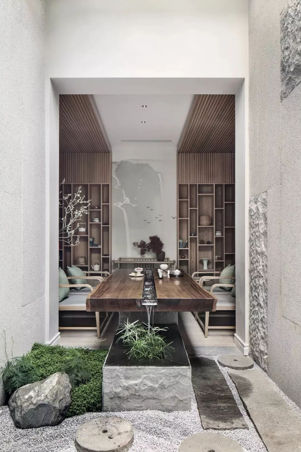 Pin By Tmacsky On Modern House Zen Interiors Chinese Style Interior Oriental Interior