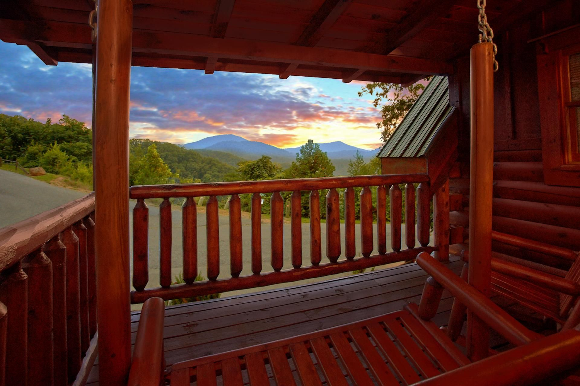 fireside forge tenn in cabins mountain chalet rentals cabin memories pigeon tennessee chalets and
