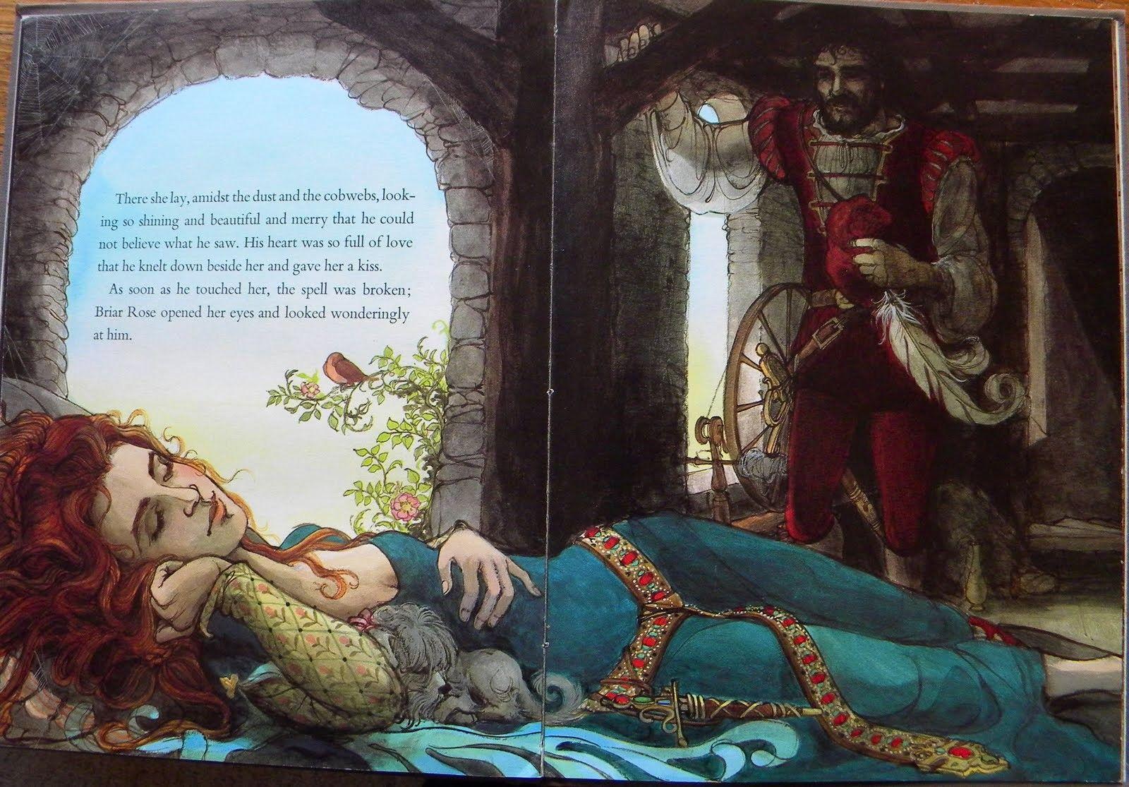 десятилетия спящая царевна перро картинки глина была влажной