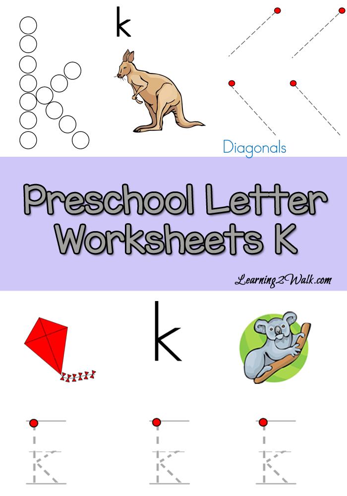Preschool Letter K Worksheets Preschool letters, Letter