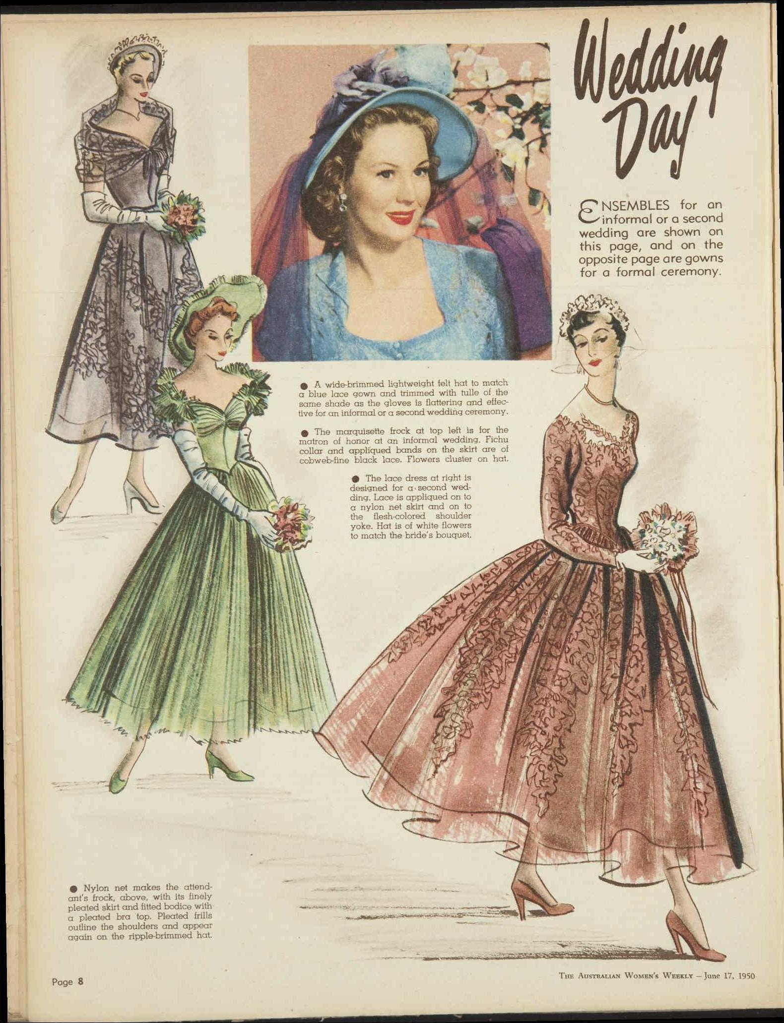 Issue: 17 Jun 1950 - The Australian Women\'s Weekly 1950\'s vintage ...