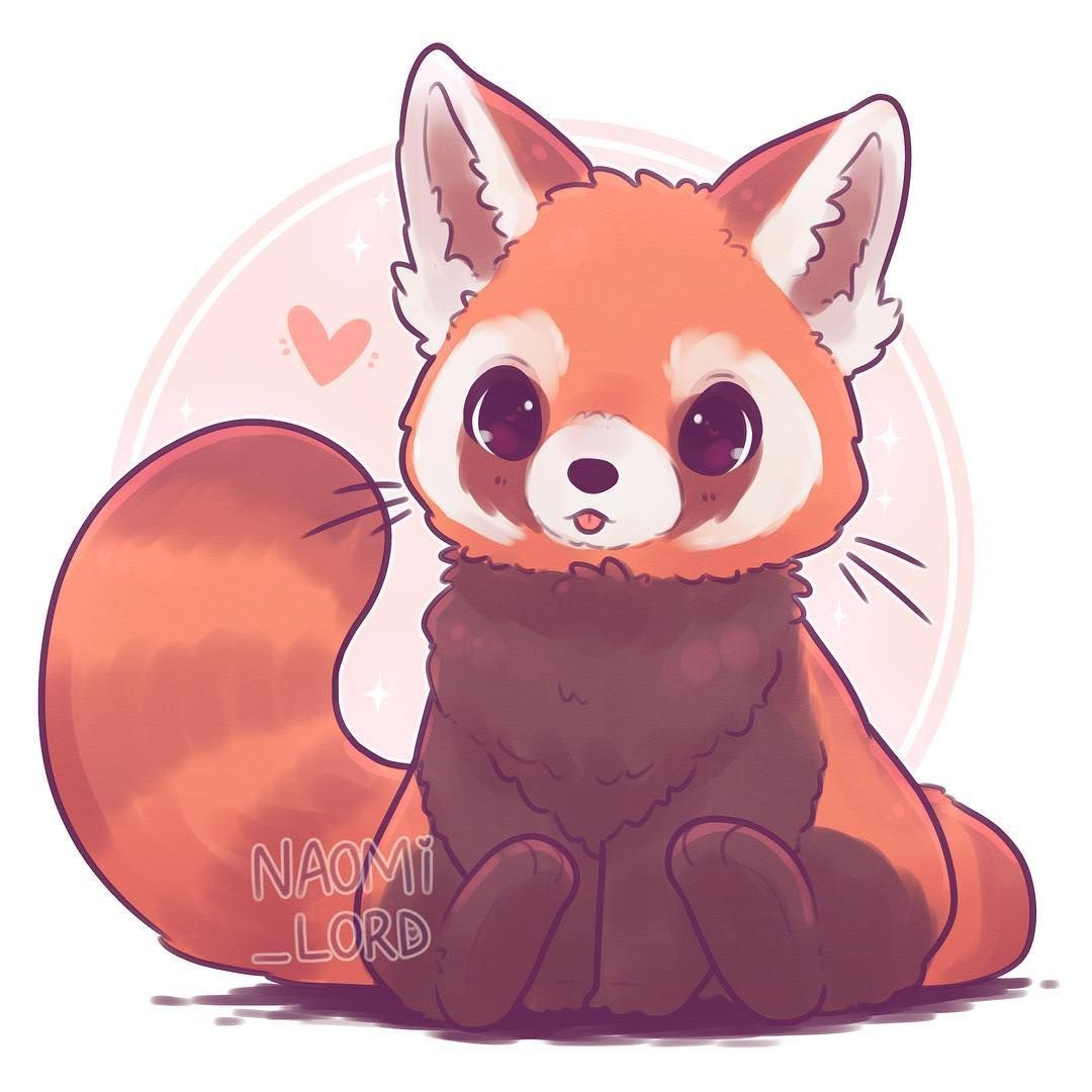 Starting A Kawaii Animal Series Got A Lot Of Requests For A Red Panda What Cute Anim Cute Animal Illustration Cute Kawaii Animals Cute Kawaii Drawings