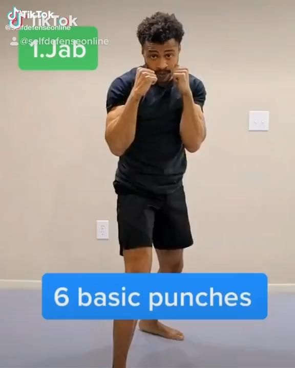 Martial Arts, Boxing-Six Basic Punches