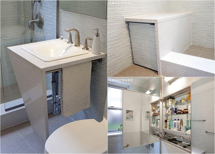 #badezimmer Badezimmer Renovieren: 5 Moderne Projekte Und Vorher Nachher  Bilder #Badezimmer #renovieren
