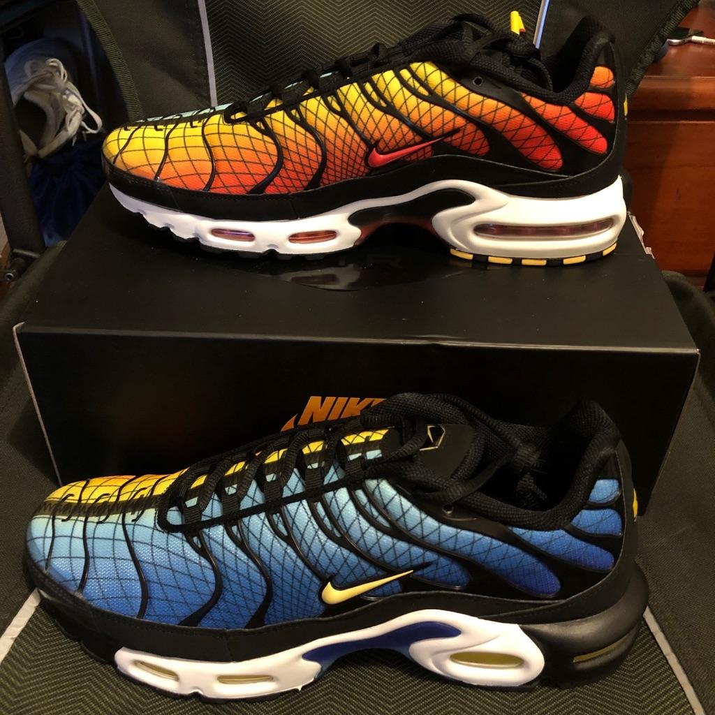 Nike Men's Air Max Plus 97 BlackOrang (Size 11) Nike