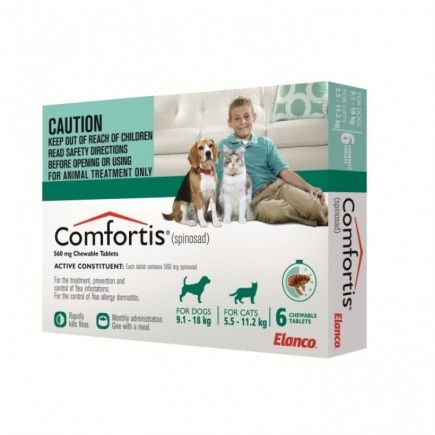 Comfortis Medium Dog Cat Dog Treatment Dogs Cat Pet Supplies