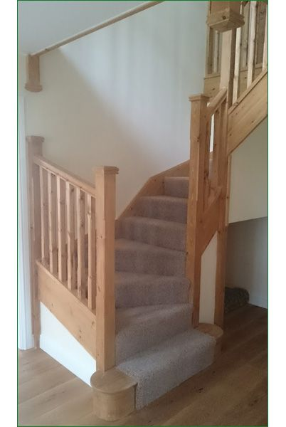 trederwen view this a double winder staircase with stop. Black Bedroom Furniture Sets. Home Design Ideas