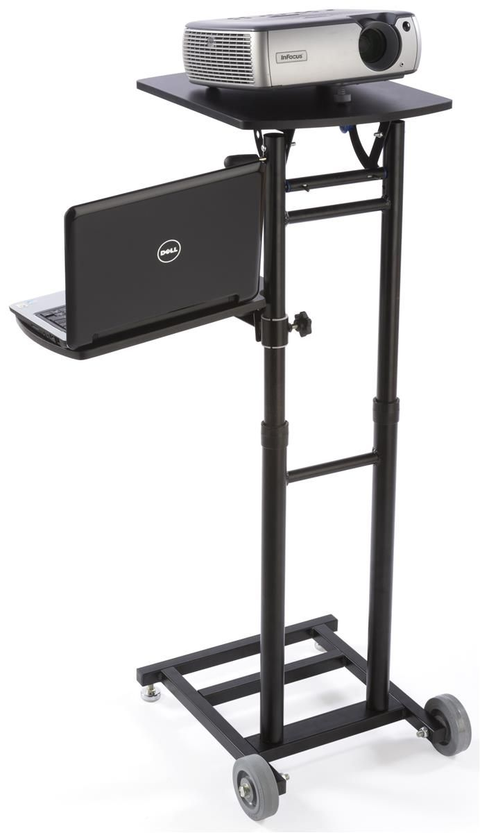 The Adjustable Projector Stand Has 20 Shelves That Modify Height ...