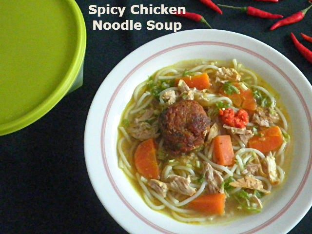 Spicy Chicken Noodle Soup Food Spin Pinterest Noodle Soup