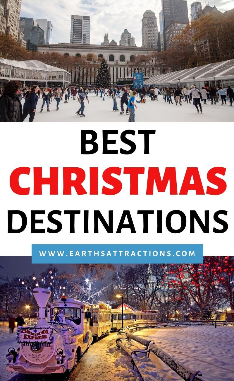 Top 10 Christmas vacation destinations (With images) | Christmas vacation  destinations, Holiday travel destinations, Best christmas vacations