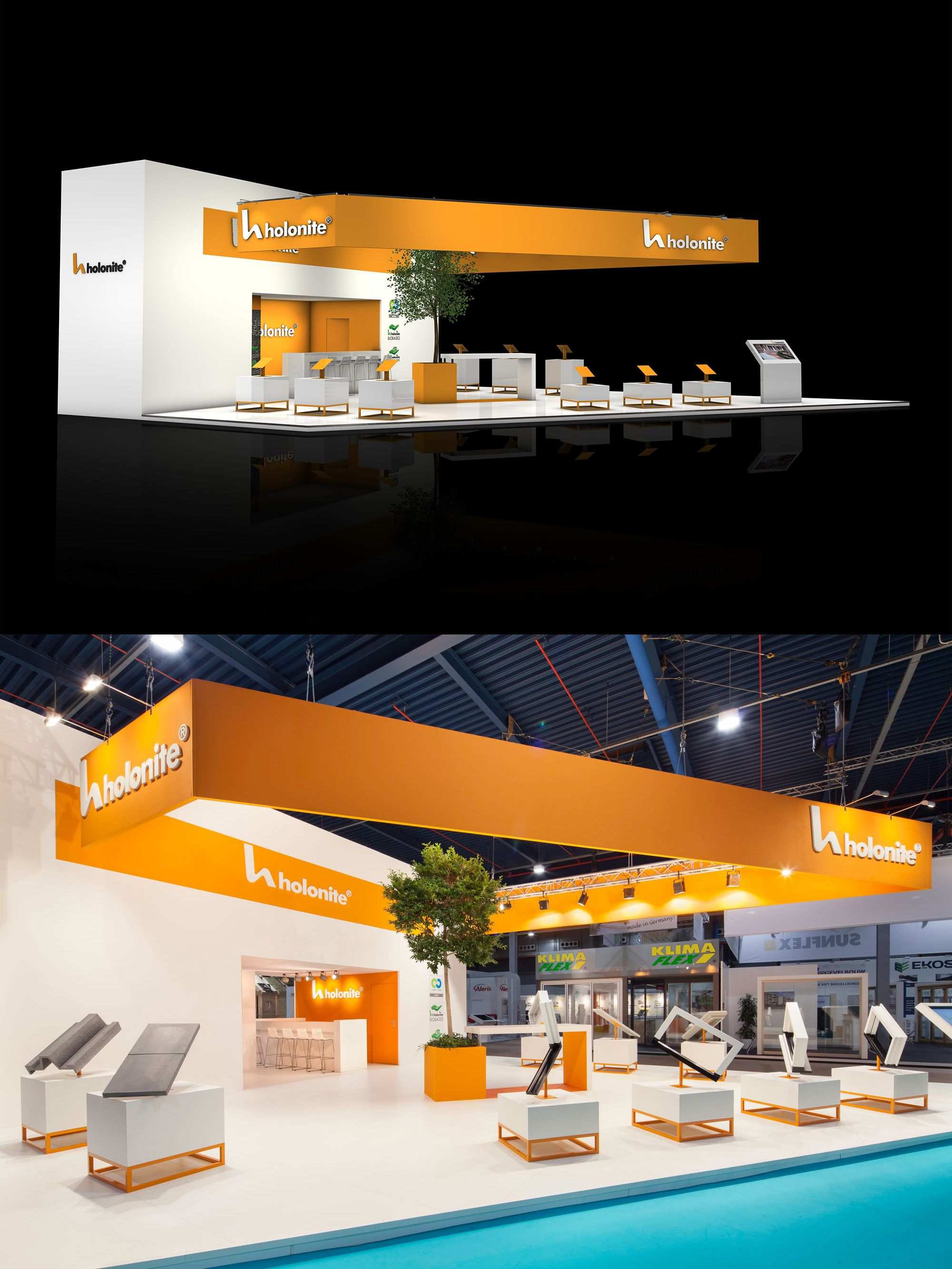 Exhibition Stand Construction : Exhibition stand design and booth from the inside