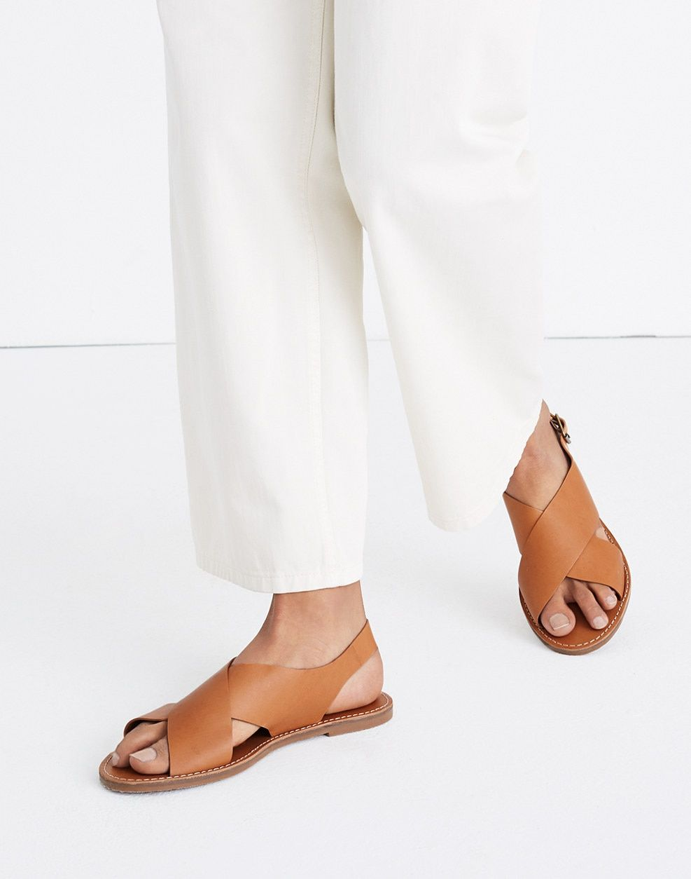 7ff380b2a8b5 The Boardwalk Crossover Sandal | Style | Sandals, Shoes, Shoes flats ...