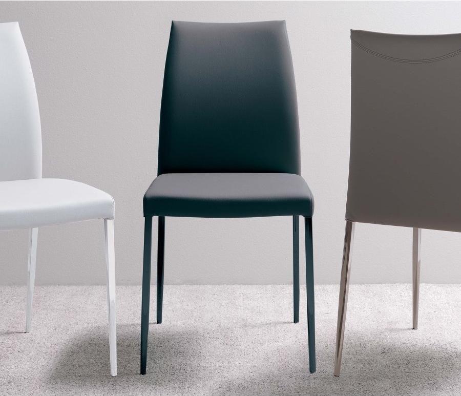 Ozzio Nexus S318 Chaise Structure En Metal Avec Assise Dossier En Simili Cuir Chaise Decoration Maison Et Simili Cuir