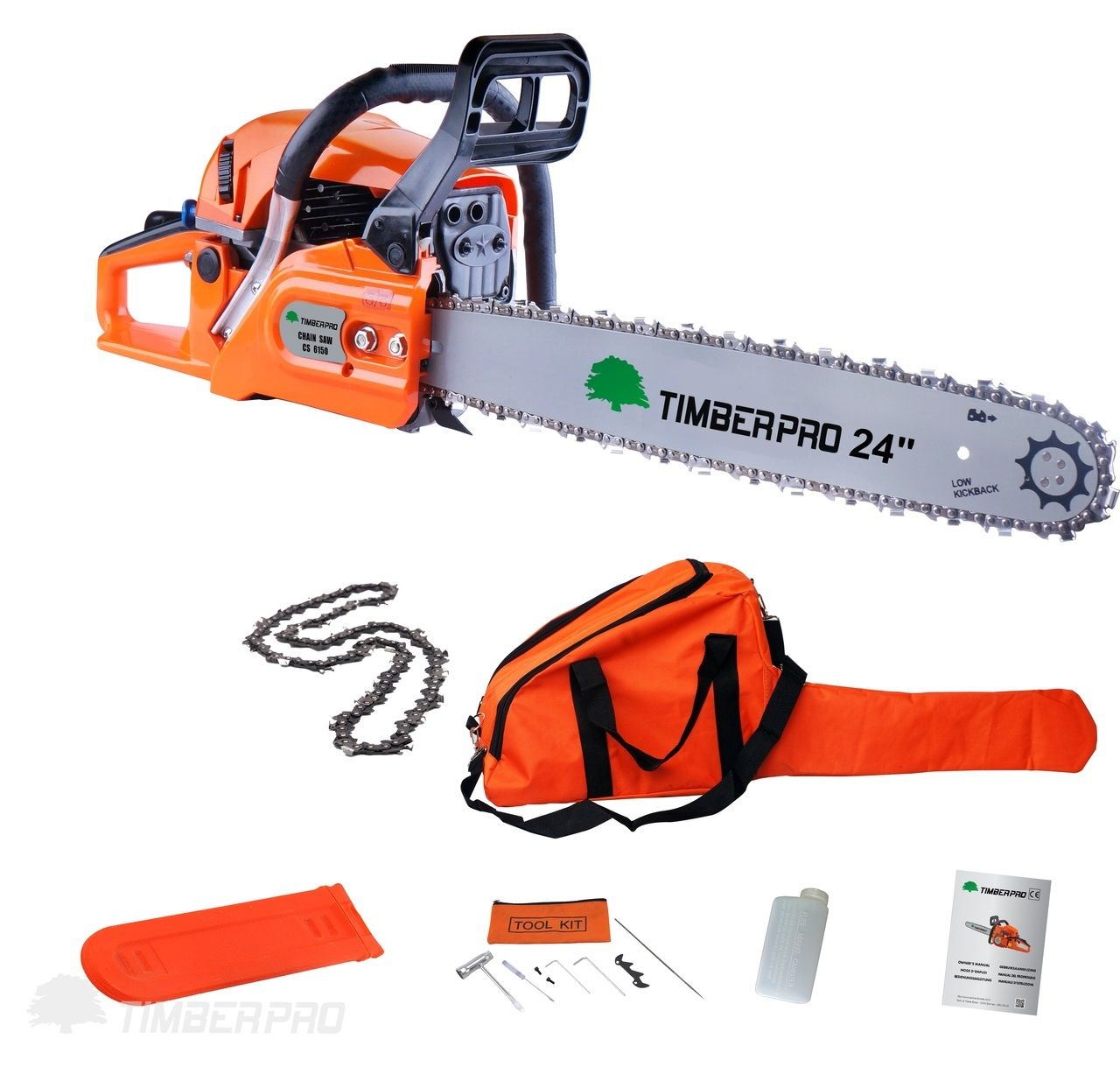 Timberpro 62cc 20 Petrol Chainsaw High Quality Designed For Both Professional And Domestic Use Comes Wit Petrol Chainsaw Chainsaw Best Riding Lawn Mower