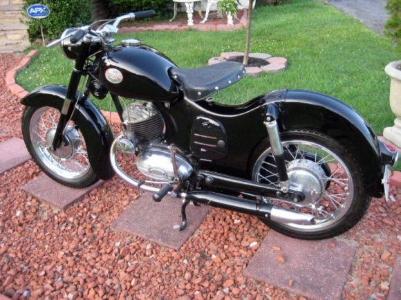 Sporting Goods 1953 Allstate 175 Sv Motorbike Art Vintage Bikes Vintage Motorcycles