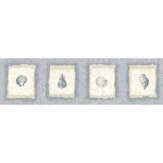 One Way Sea Shell Wallpaper Border By Writings On The Wall Wallpaper Border Wallpaper Prepasted Wallpaper