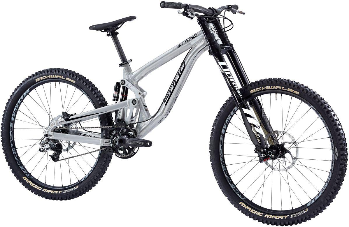 ee606cb1d63 14 Solid Bike Strike 650B Elite Pro M/L Raw alloy Complete Bike   my ...