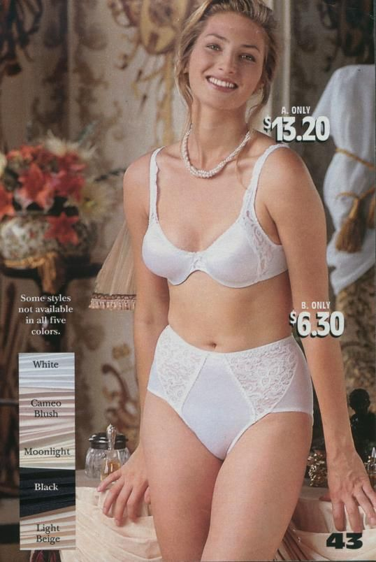 807b815ea1 One Hanes Place model in Bali bra and panty!