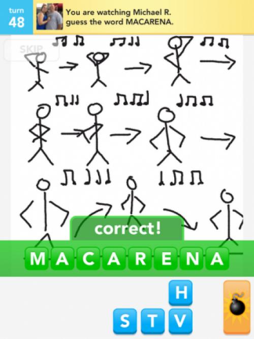 Macarena Dance Guess the word, Childhood memories, Words