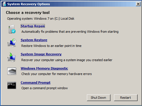 If You Get Windows Error Recovery Screen In Windows 7 Fix It In