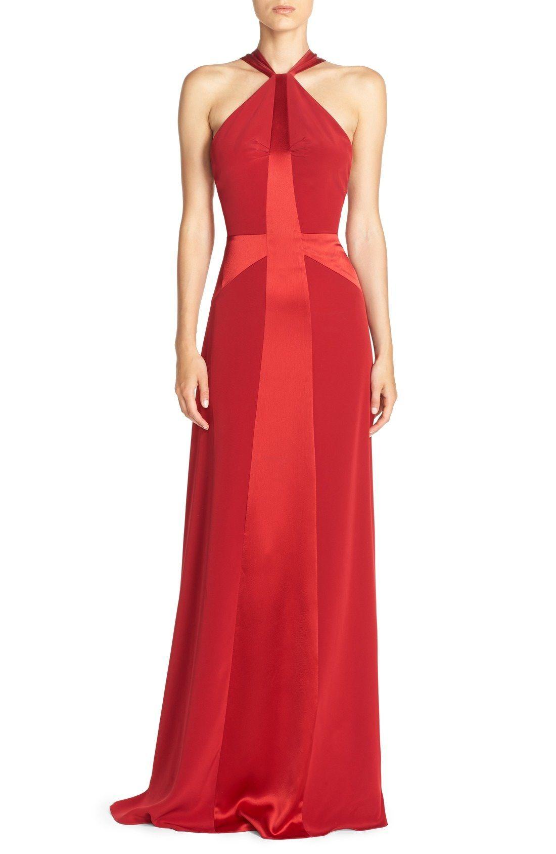 Jill Jill Stuart Racerback Crisscross Gown available at #Nordstrom ...