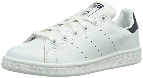 adidas Stan Smith J - Zapatillas para ni�o, color blanco / rosa, talla 37  1/3 | Club De Adidas | Pinterest | Adidas stan smith, Adidas stan and Stan  smith