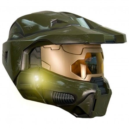 6664633ab2e Master Chief Helmet - Side View | Halo Costumes | Halo master chief ...
