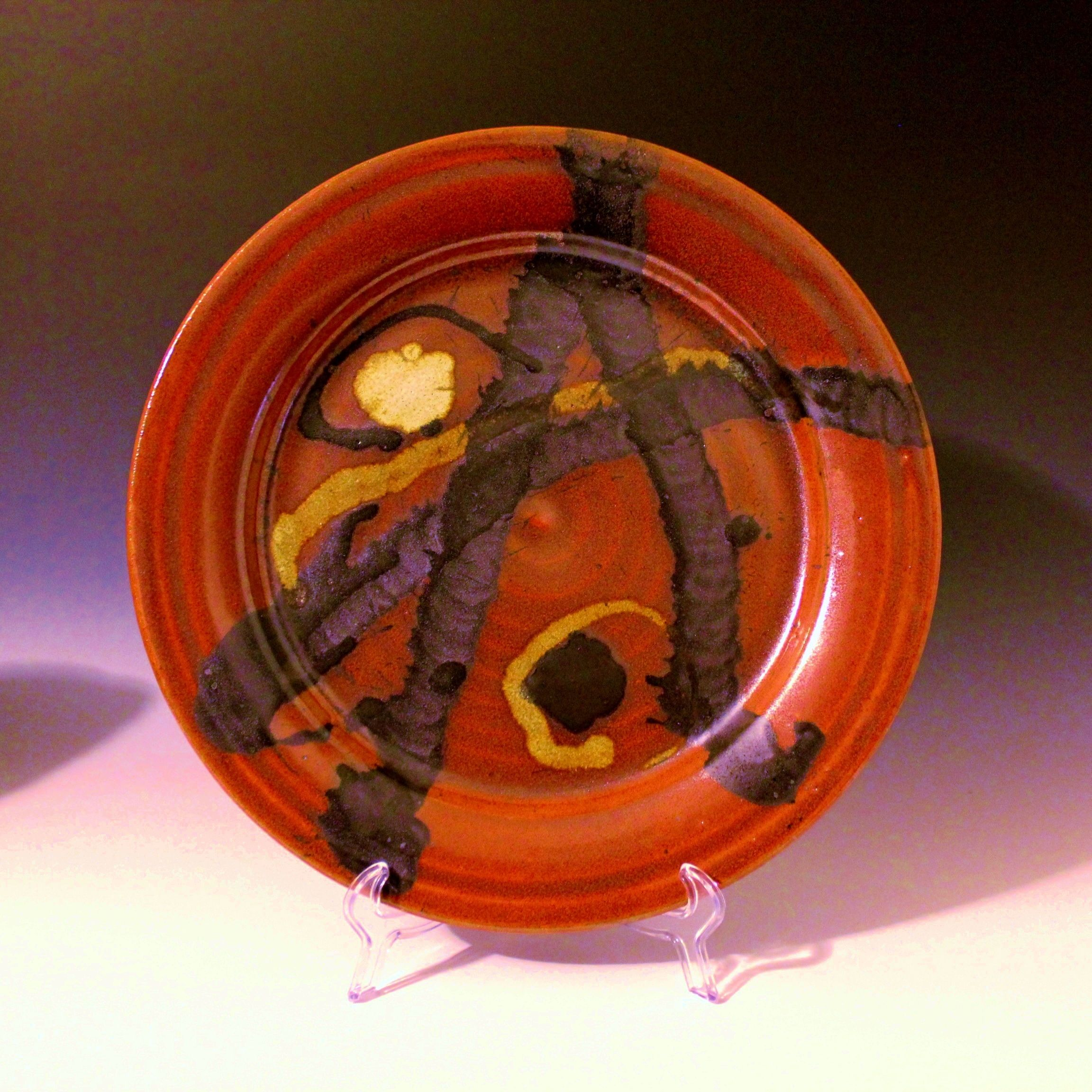 """14"""" Holiday Platter.  Anthony Rollins"""