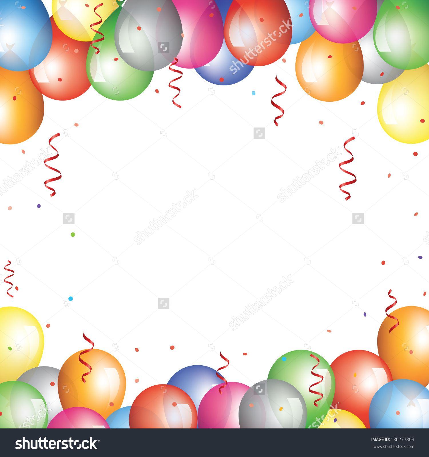 Balloon Party Hat Clip Art