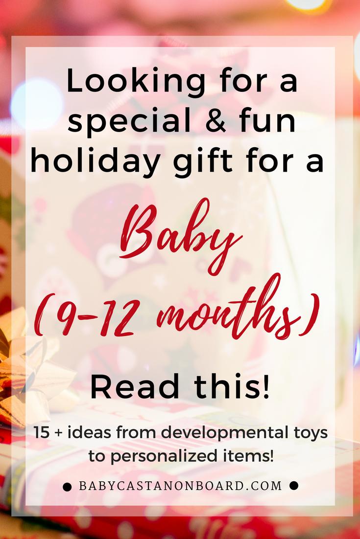 gift ideas for babies 9 12 months developmental toys 12 months