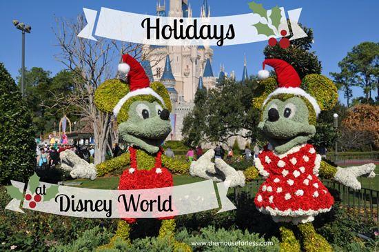 Holiday Activities Events at Walt Disney World