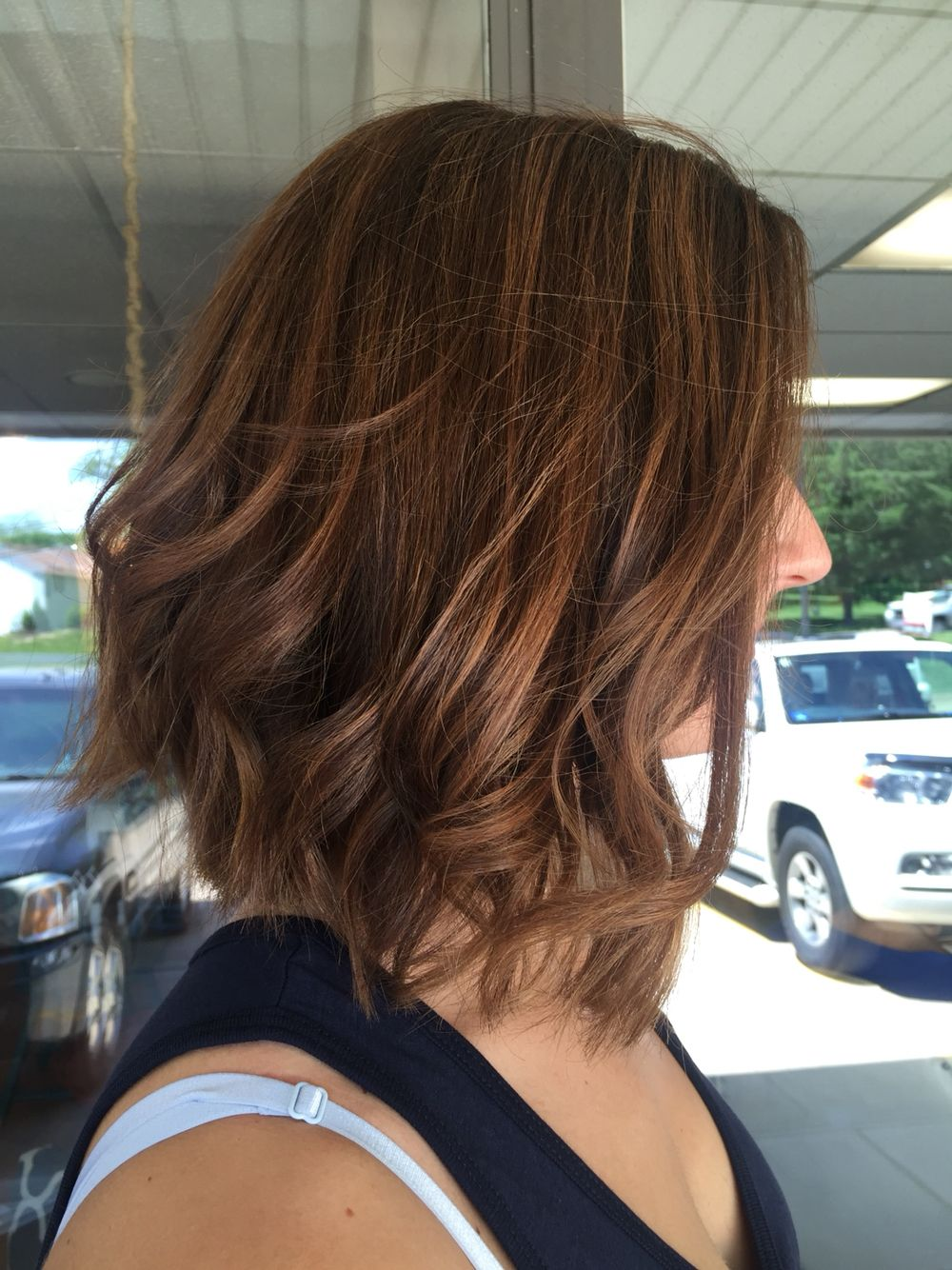 Short hair lob balayage  Short hair styles, Hair, Balayage