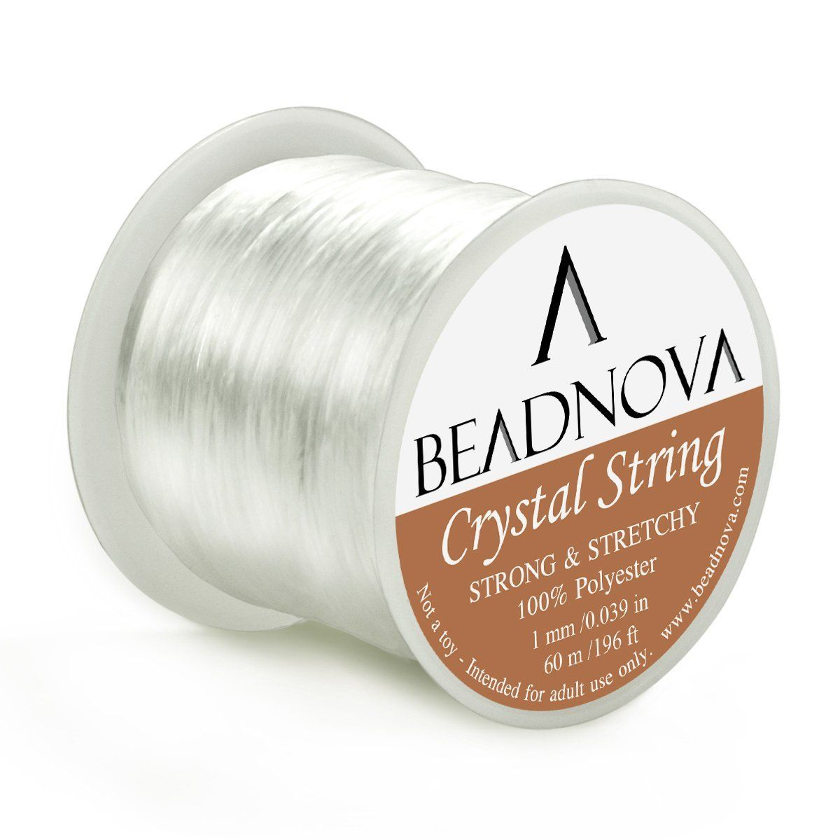 Pepperell Stretch Magic 0.7mm Bead and Jewelry Cord 100m Clear