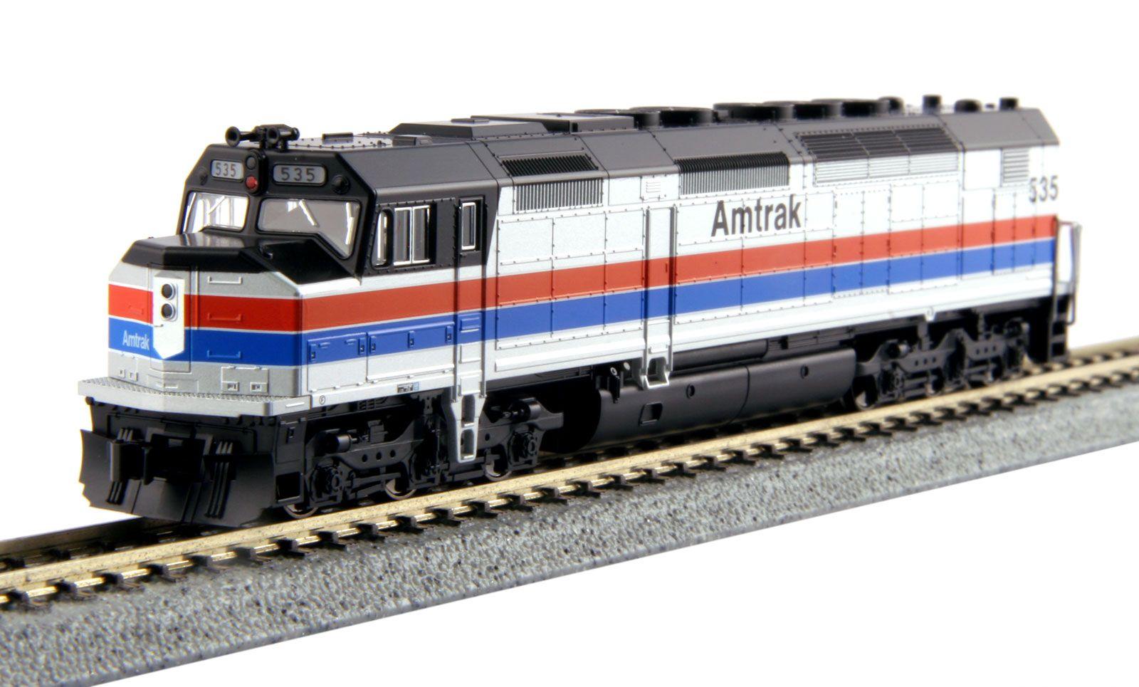 Kato 176-9204 N Amtrak EMD SDP40F Type I Phase II Paint #535