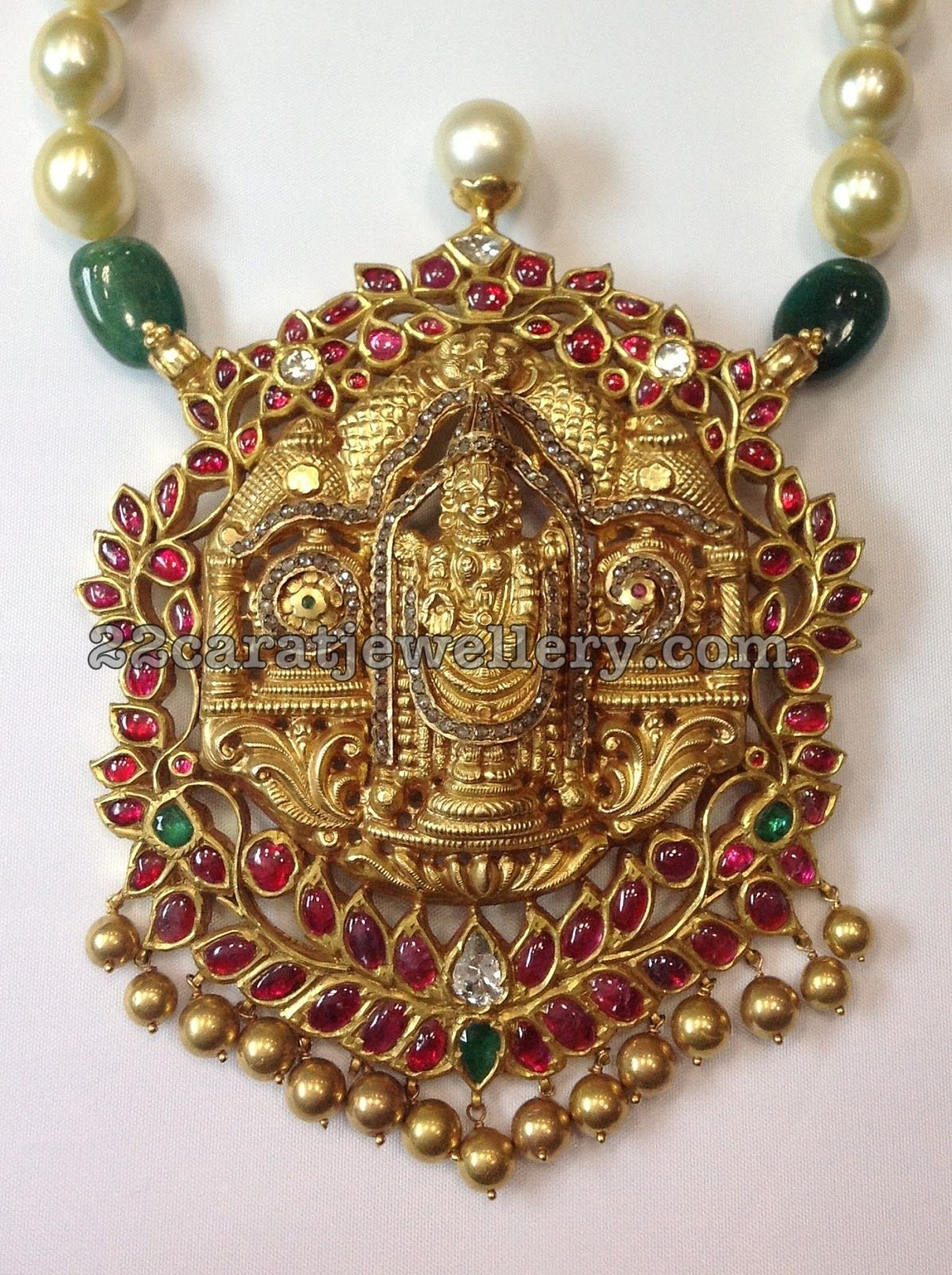 Latest temple jewellery indian jewelry pendants and collection latest temple jewellery aloadofball Gallery