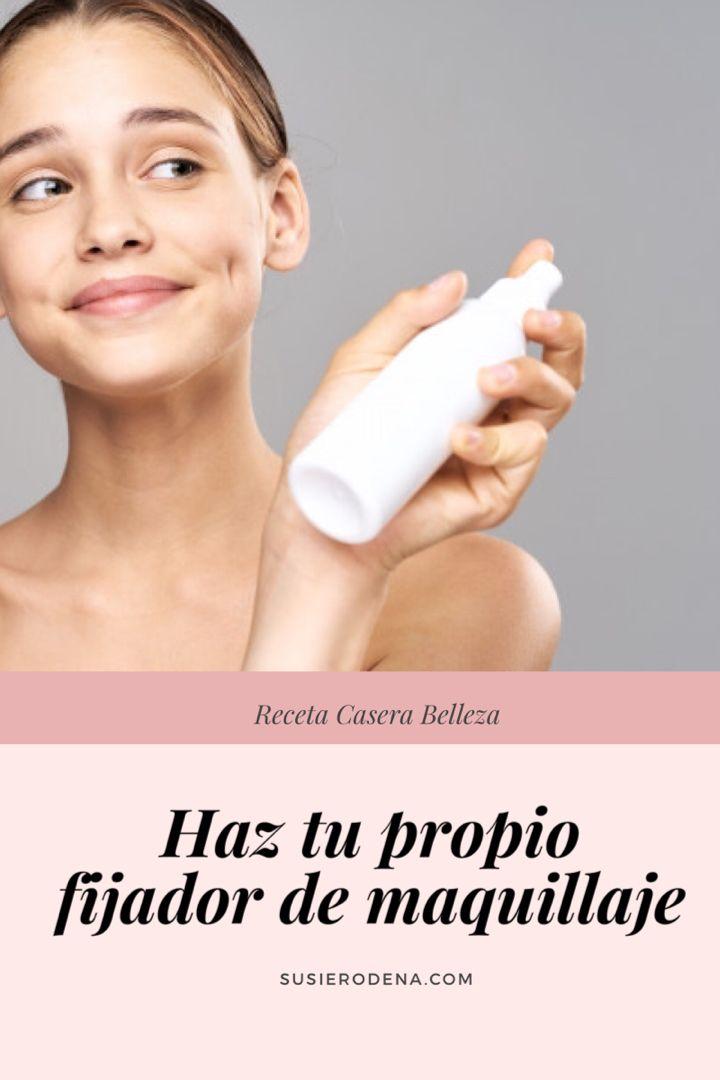 Receta de fijador de maquillaje   – Maquillaje