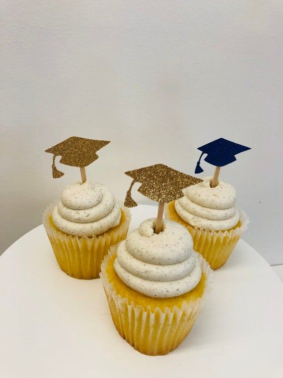 Photo of Graduation Cupcake Toppers | Graduation Party Decorations | Grad Party | Class of 2020 Cupcake Toppers | Graduation Decorations 2020