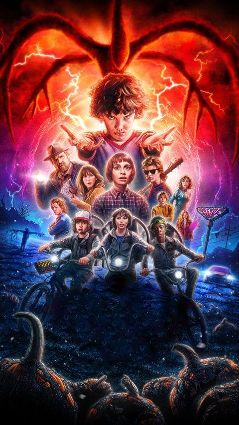 Top 10 Stranger Things Phone Wallpaper, Desktop HD Quality