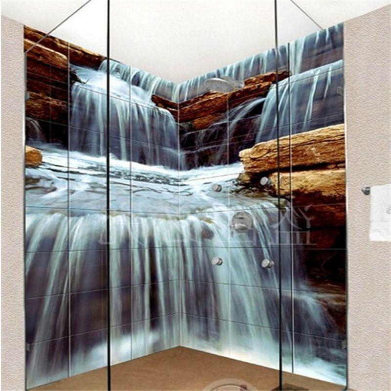 3d Fliesen Ideen Fur Das Badezimmer Badezimmer Bodenbelage Fliesen Diy Zenideen 3d Fliesen Fotofliesen Bad Fliesen Designs