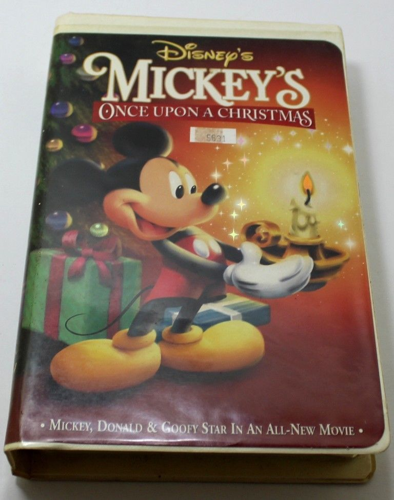 disney mickeys once upon a christmas 1999 vhs tape - Mickeys Once Upon A Christmas Vhs
