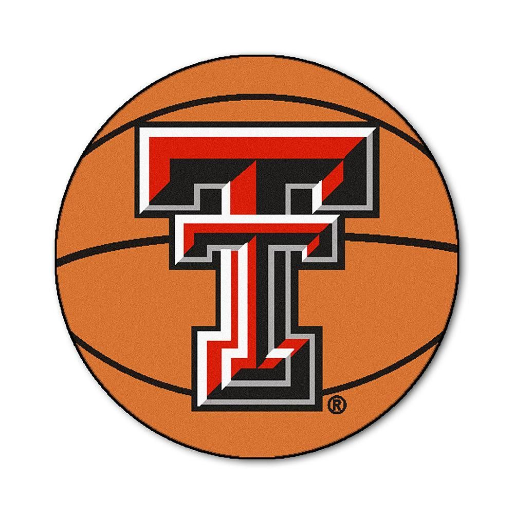 Texas tech red raiders ncaa basketball round floor mat 29 for basketball fans of all ages our fanmats round carpet basketball rugs were made for you the ncaa team logo is featured in the center of a luscious rug biocorpaavc Choice Image