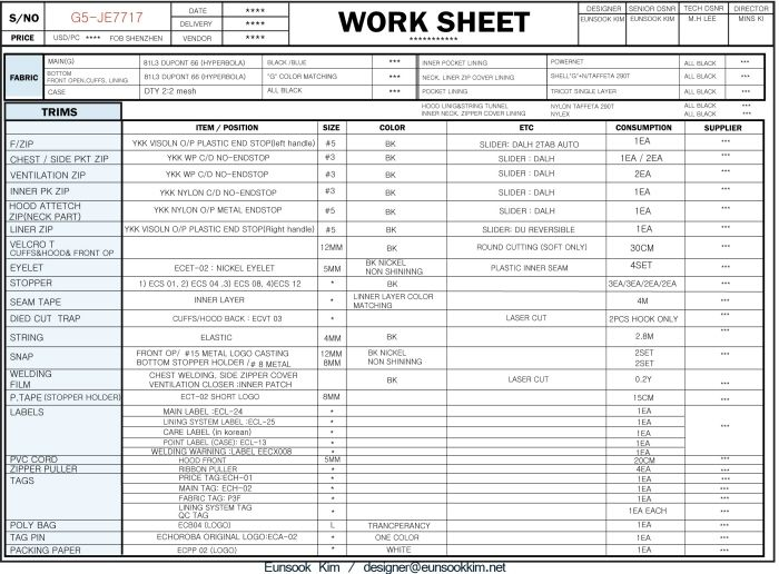 abc of garment export house Garment Costing (CMT) Worksheet - cost savings analysis template