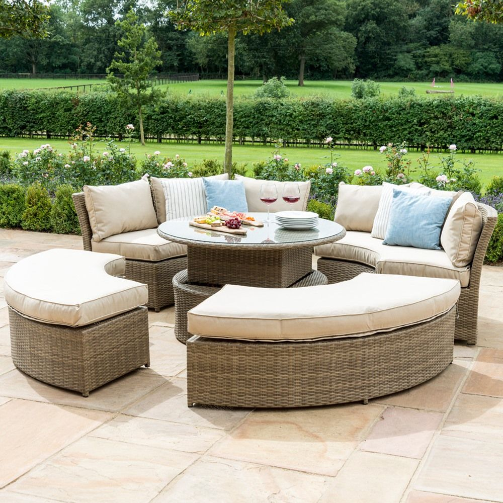 Maze Rattan - Chelsea Lifestyle Suite - Tuscany in 6  Garden
