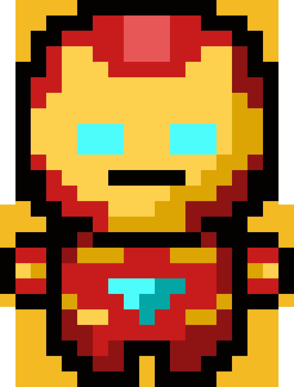 Image Result For Pixel Art Superheroes