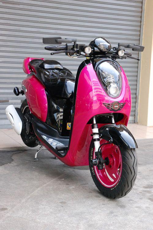 Scoopy I Fix Gear Motorcycle Pinterest